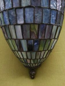 STAINED GLASS - Blue Pendant Light - Very Unique Gatineau Ottawa / Gatineau Area image 3