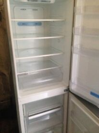 Lg Stainless steel fridge freezer...Mint free delivery
