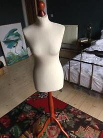 Female mannequin, dressmaking dummy size 12