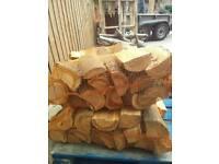 Cherry fire logs