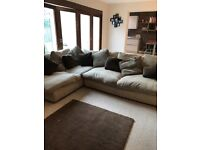 Sofa , Chair and Pouffe