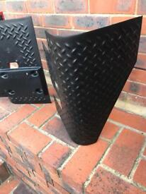 Jeep Wrangler rear defence guards