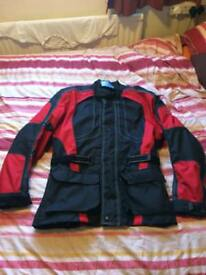 Motorbike jacket and trousers set