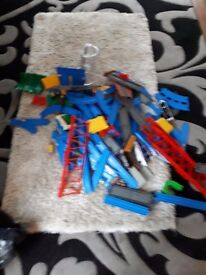 Thomas the tank engine blue track. Excellent condition