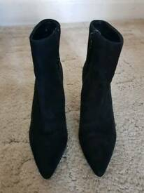 Dune suede boots