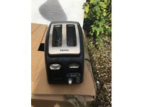 Tefal black and silver toaster