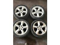 VAUXHALL. ZAFIRA. ALLOY WHEELS FULL Set 4x. May PX.