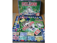 "Monopoly (THE F.A PREMIER LEAGUE EDITION) 1999/2000"" board game. Complete."