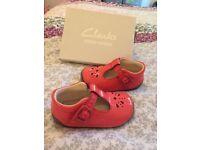 Baby girls Clark's shoes