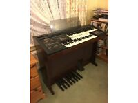Yamaha Twin Keyboard Electronic Organ Electone HC-4W
