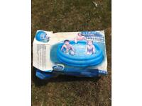 Inflatable 3-ring paddling pool