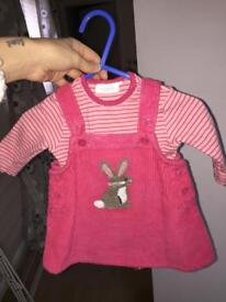 Next baby girl outfit with tights
