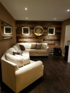 Barnboard Feature Walls