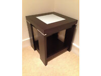 John Lewis Expresso Brown Small Corner/Coffee Table JUST REDUCED