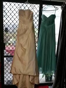 Ella Wedding Dress with Infinity bridesmaid dress Wynnum West Brisbane South East Preview