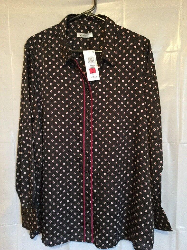 d11e5c29 New Ladies M&S Blouse Size 18 - Black | in Castle Douglas, Dumfries ...