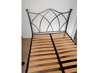 BED 4ft 6 inches METAL FRAME DOUBLE