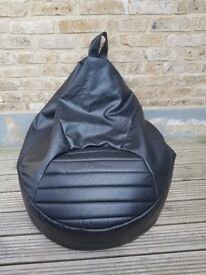 BARGAIN DISCOUNT CHEAP SALE - Large Black Bean Bag purchased from John Lewis