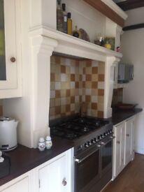 Beautiful Brookmans Broomhall hand painted kitchen