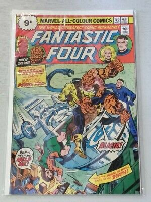 FANTASTIC FOUR #170 VF (8.0) MARVEL COMICS MAY 1976*