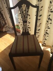 4 chairs - used and in good condition