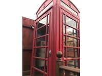 Red phone box k6