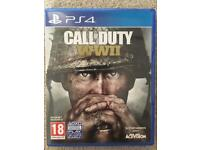 Call of duty WW2 PS4 game