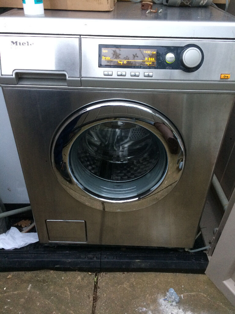 Industrial Washing Machines : Commercial industrial miele pw stainless steel washing