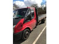 Ford transit drop side with tail lift