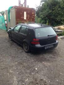 For parts only loads of golf & Bora 1.9tdi