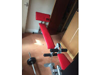 Bargain Clearance Discount Excellent Reduced Compact Upright Home Gym & Machine, £75 Smoke FREE Home
