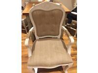 Lovely armchair/ carver/bedroom chair