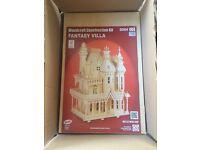 Woodcraft construction kit Fantasy Villa D004