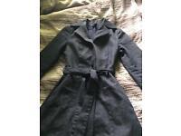 ZARA women denim coat size S