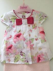 Ted Baker Girls outfit 0-3 months brand new with tags