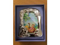Disney Pooh Photo Frame (Silver Plated Mint Condition)