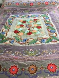 Vintage Indian Wall Hanging/Bed Throw