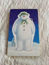 M&S The Snowman wooden puzzle