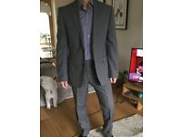 5 Mens quality suits purchased Jenners/French connection