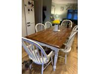 Laura Ashley Bramley Dining Table & 6 Chairs