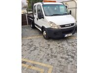 Iveco tipper fsh 1 years mot very clean