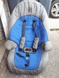 Car seat forward facing
