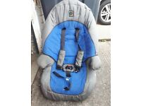 Car seat forward facing