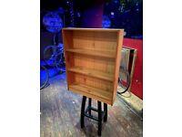 Wooden bookshelves/ Shelving unit