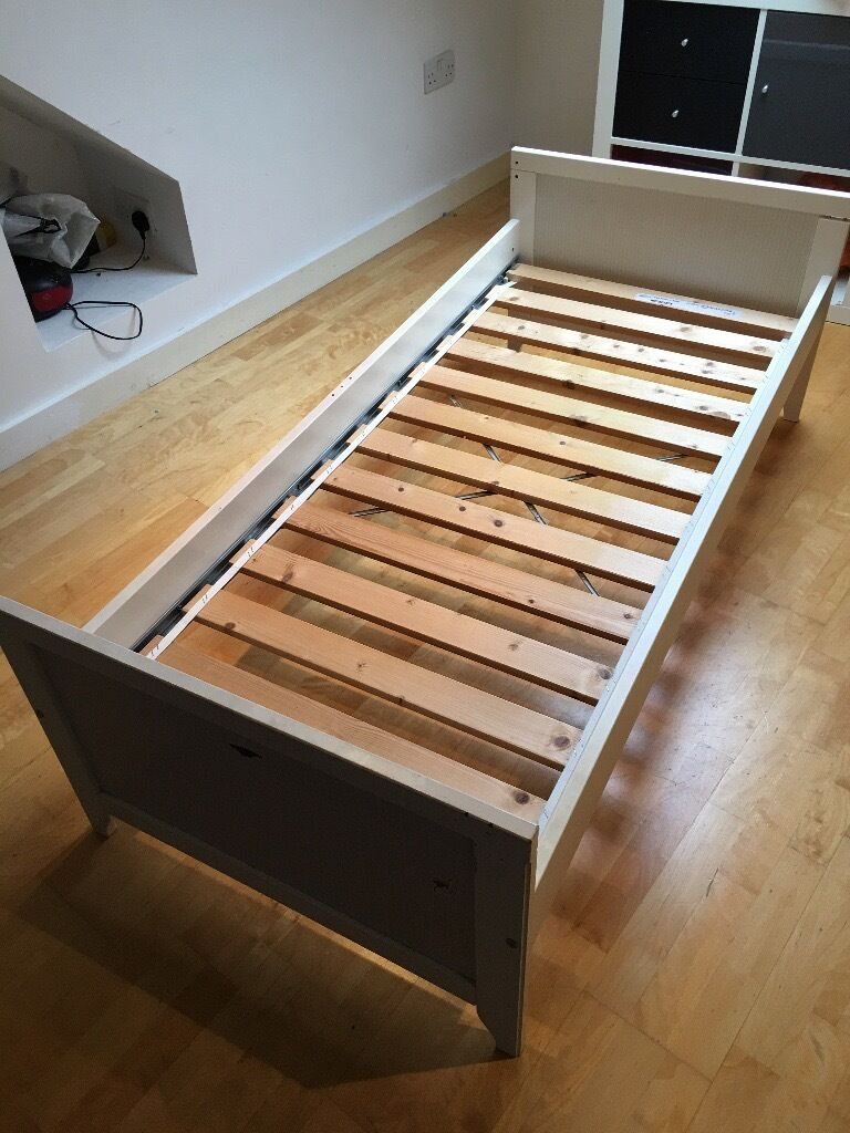 Ikea Sultan Lade Single Kids Bed Good Condition No Mattress