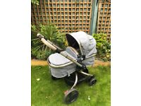 Mothercare orb pram and puschair