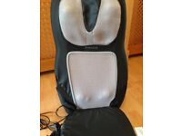 Shiatsu 2 in 1 back and shoulder messaged with heat only used once