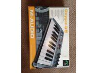 M audio oxygen 8 v2 midi keyboard
