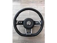 Mk7 golf flat bottom gtd steering wheel