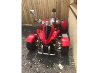 Spy 350cc road legal quad bike atv